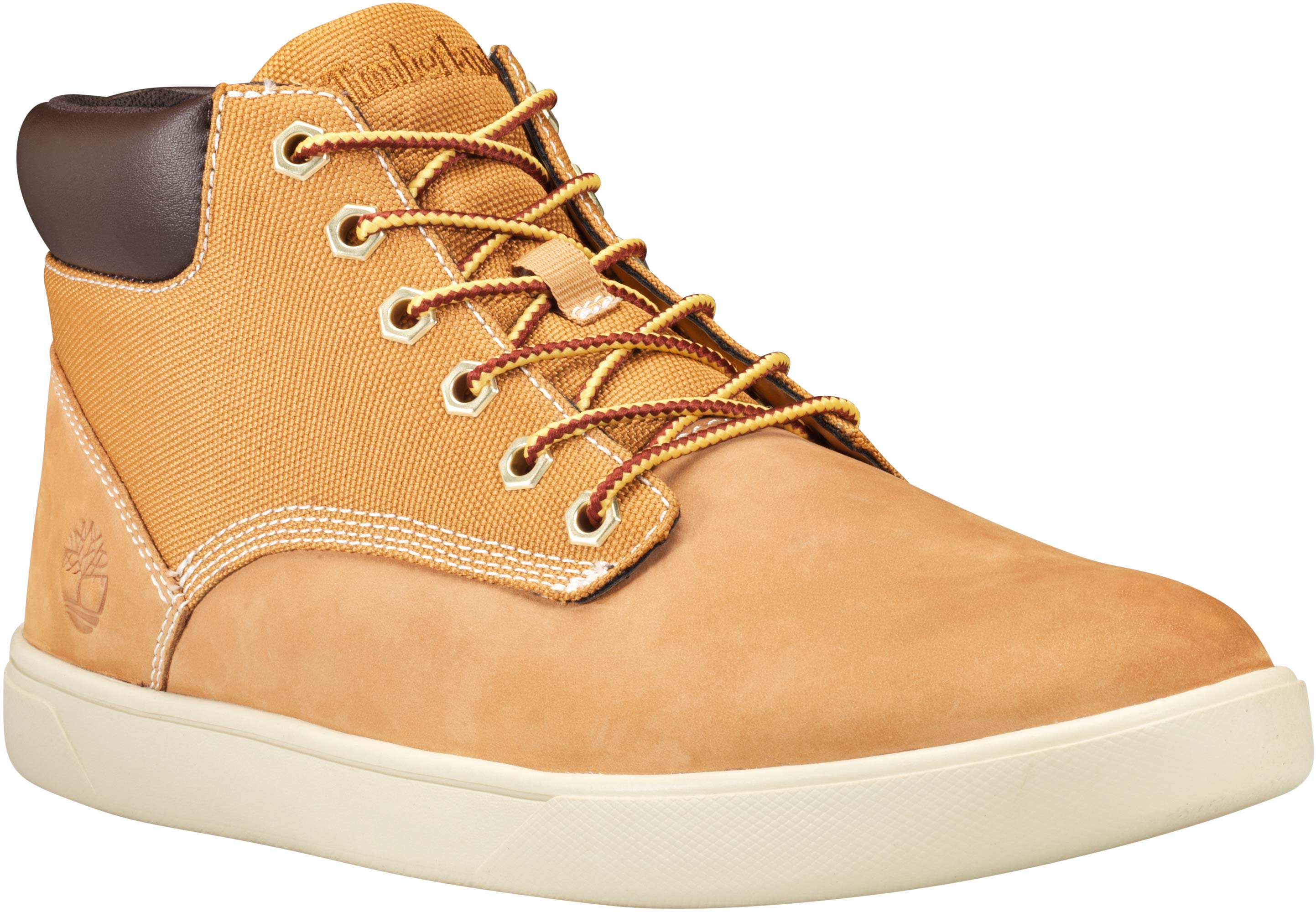 Timberland Groveton Wheat Men's Leather & Fabric Chukka Sneakers TB0A1115
