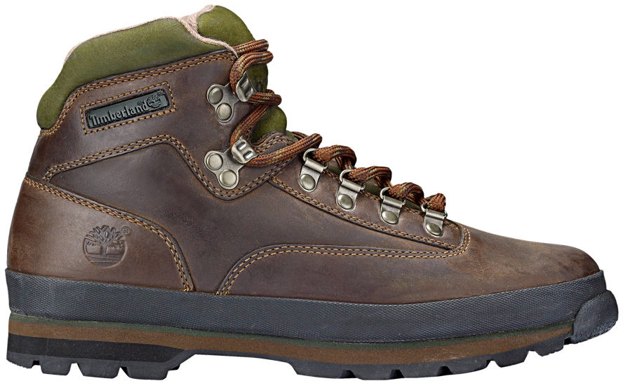 Details about Timberland Men's Euro Hiker Leather TB095100214 Medium Brown Full Grain