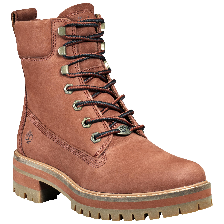 Details about Timberland Women's Courmayeur Valley Yellow Boot TB0A23VAV17 Rust Nubuck
