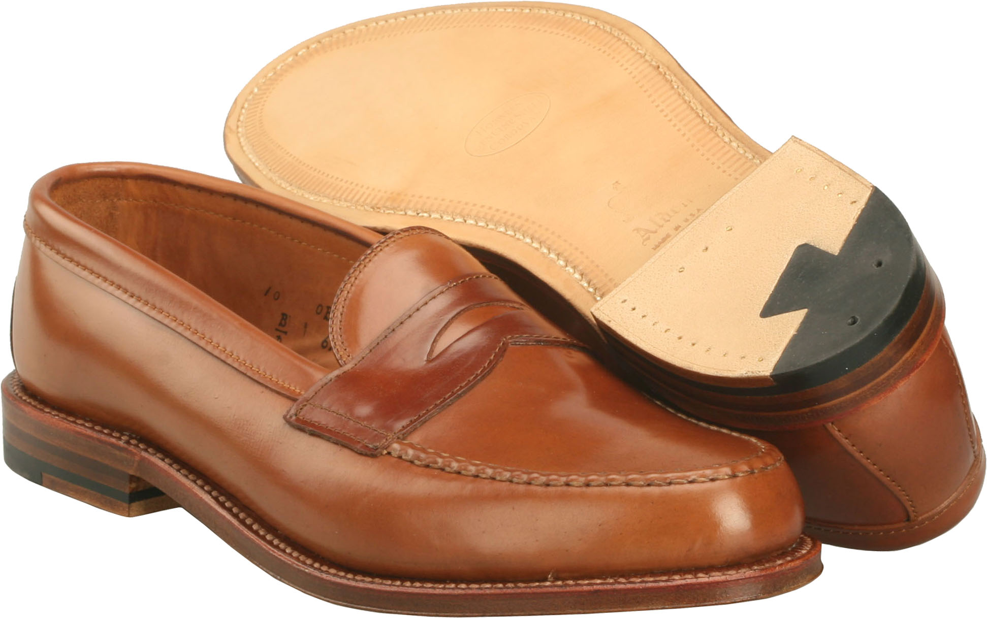 Alden Whiskey Shell Cordovan Shoes - Bootmaker Edition Leisure Handsewn