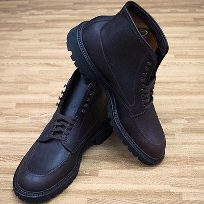 Alden Dark Brown Kudu Indy Boot 404