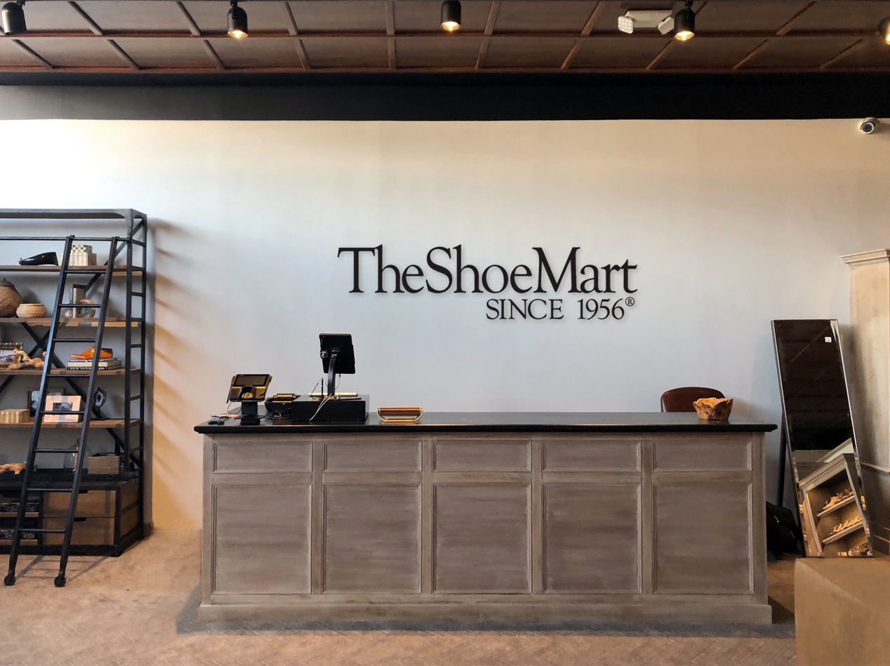TheShoeMart New Retail Location Front Desk