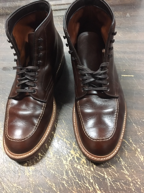 How to Care for Alden Shoes - 403 Indy Boots - After