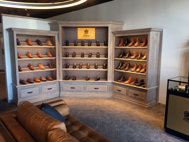 TheShoeMart | Comfortable couches and updated shoe displays greet you when you first walk in.