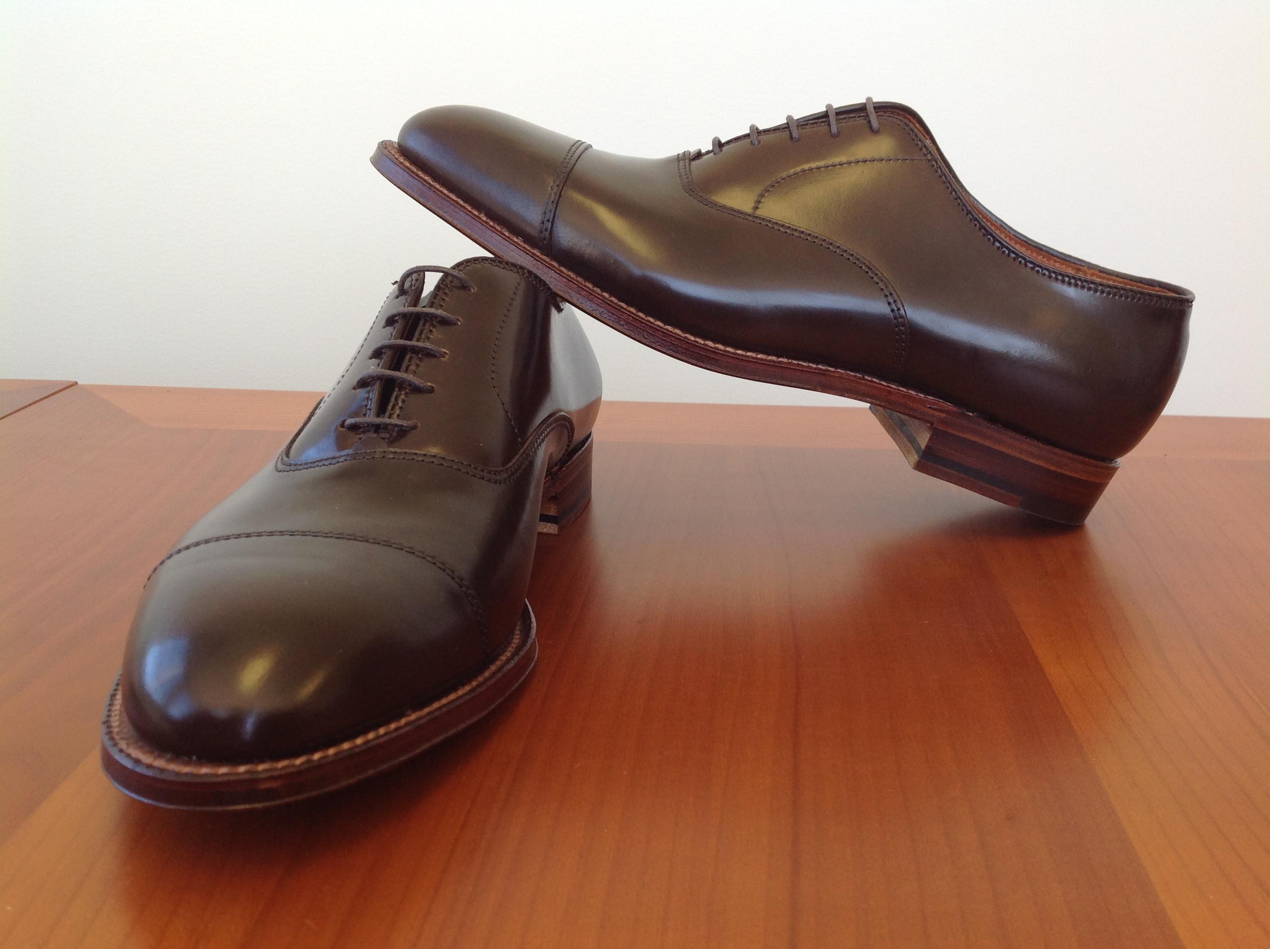 2ecf538426 Alden Cigar Shell Cordovan Shoes