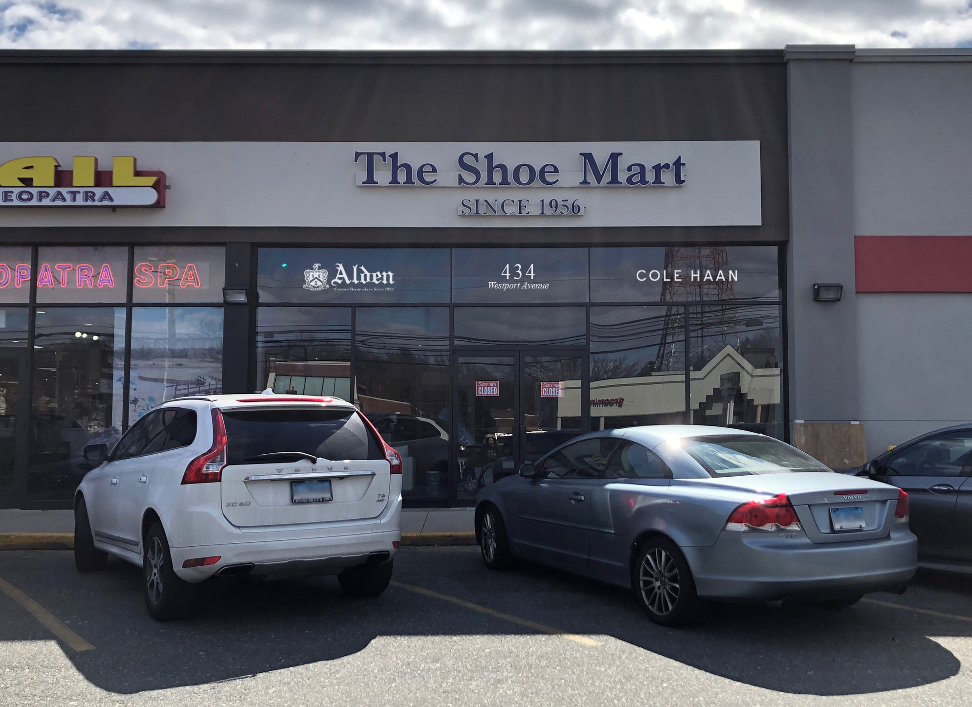 TheShoeMart | The Shoe Mart's new storefront on 434 Westport Ave.