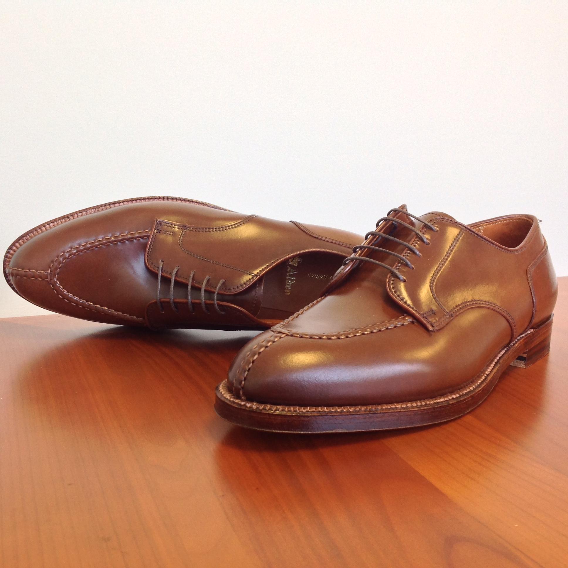 Alden Ravello Shell Cordovan Shoes